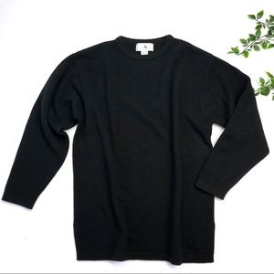 Saks Cashmere Collection Crew Neck Sweater